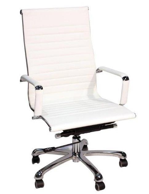 Silla escritorio blanca interesting silla escritorio for Sillas para el escritorio